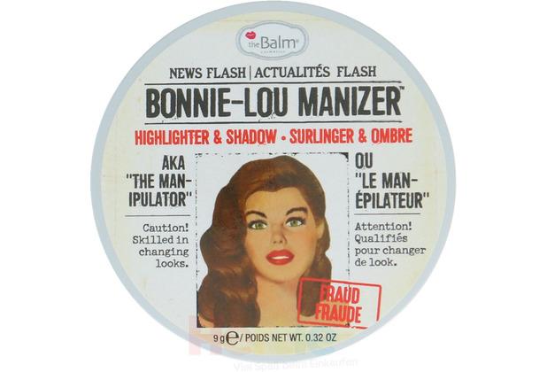 The Balm Lou Manizer Bonnie Lou - Highlighter Shimmer Shadow 9 gr