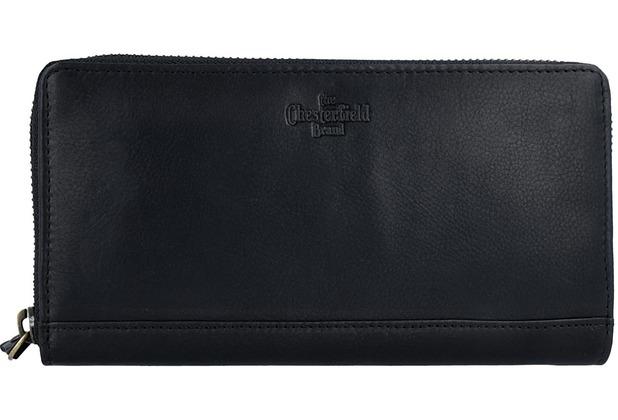 The Chesterfield Brand Nova Geldbörse RFID Leder 19 cm black
