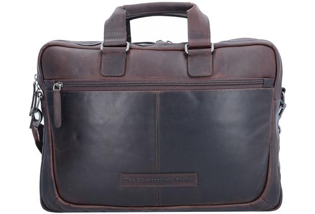 The Chesterfield Brand Samual Aktentasche Leder 40 cm Laptopfach brown