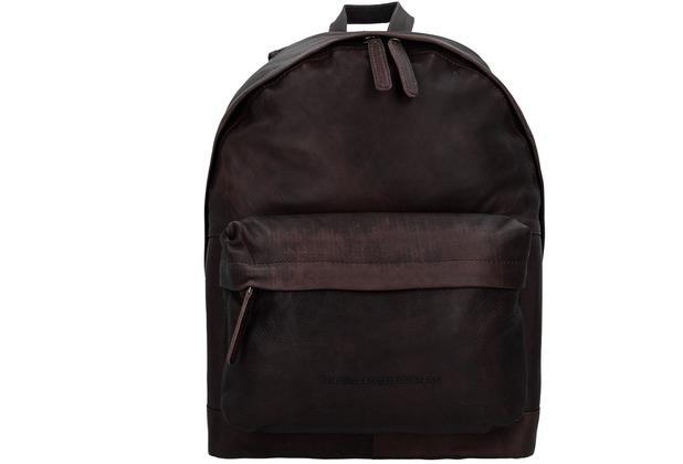 The Chesterfield Brand Stirling Rucksack Leder 42 cm Laptopfach bruin