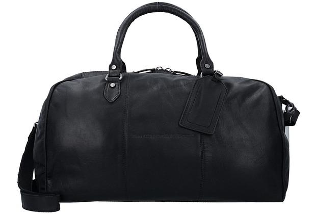 The Chesterfield Brand Liam Weekender Reisetasche 46 cm black