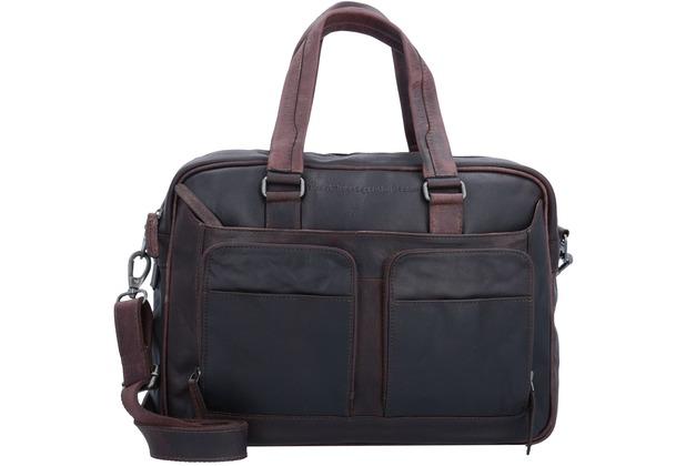 The Chesterfield Brand Windsor Aktentasche Leder 40 cm Laptopfach brown