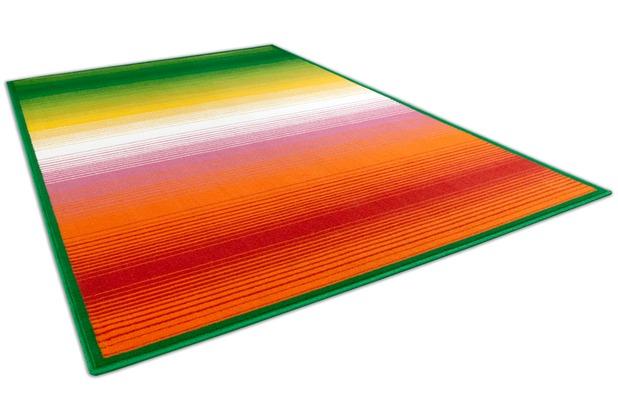 THEKO Happy Color 2165 300 grün 80 cm x 140 cm