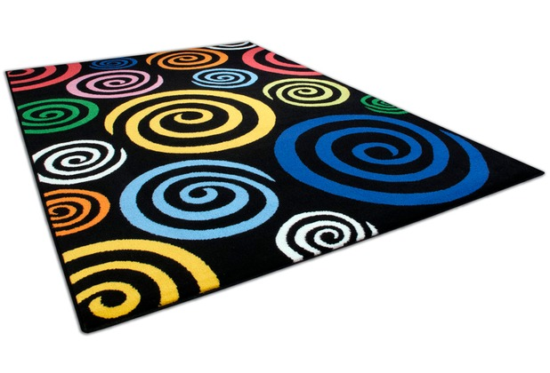 THEKO Happy Color 560 600 schwarz 80 cm x 140 cm