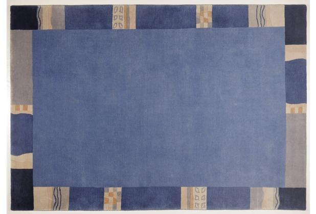 THEKO Nepalteppich - Avanti - blau 40cm x 60cm