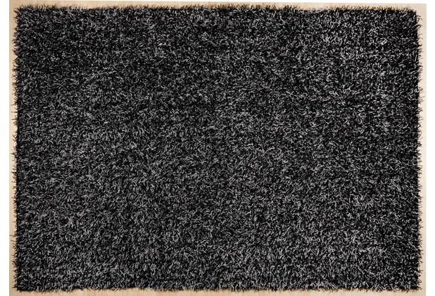 THEKO Pop Uni grau schwarz 80 x 150 cm