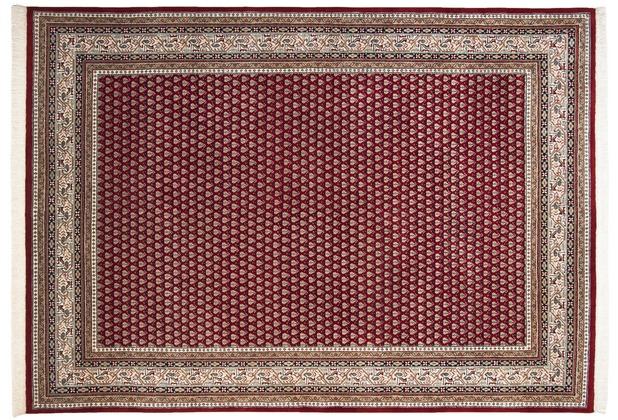 THEKO Mir Teppich Abbas Meraj 562 rot / creme 70 x 140 cm