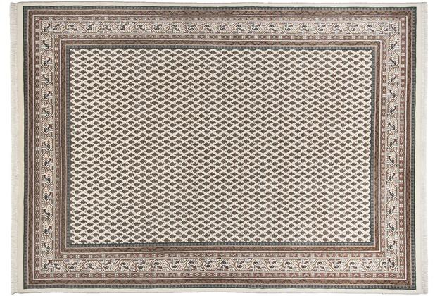 THEKO Mir Teppich Abbas Meraj 573 creme 70 x 140 cm