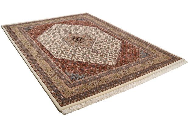Oriental Collection Bidjar Teppich Zeynal Premium Collection creme/braun 170 x 240 cm