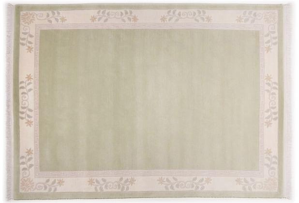 THEKO Nepalteppich Classica, TS325, grün 70cm x 140cm