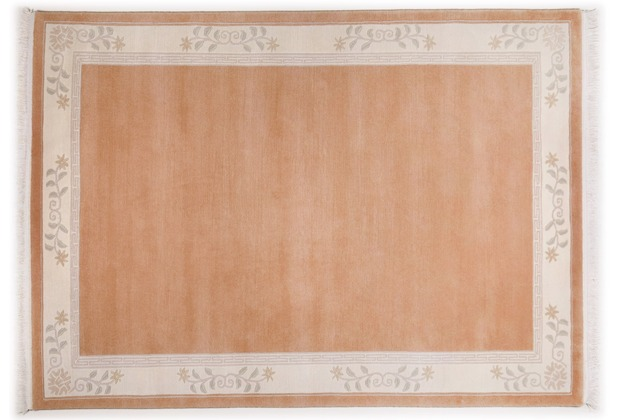 THEKO Nepalteppich Classica, TS325, light rose 70cm x 140cm