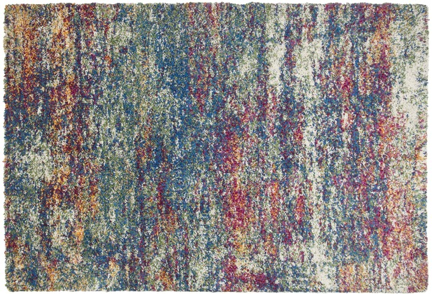 THEKO Teppich Color Shag 521 800 multicolor 57 x 90 cm