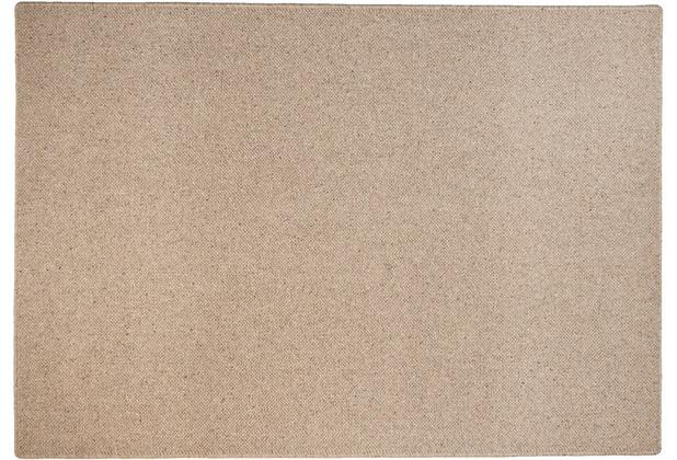 THEKO Teppich Douro UNI 500 braun 40 x 60 cm