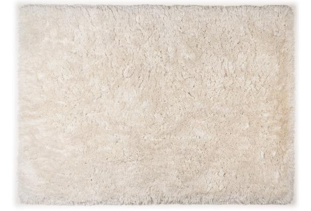 THEKO Teppich Flokato, UNI, light beige 60cm x 90cm
