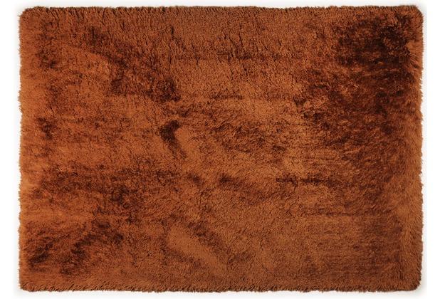 THEKO Teppich Flokato, UNI, terra 60cm x 90cm