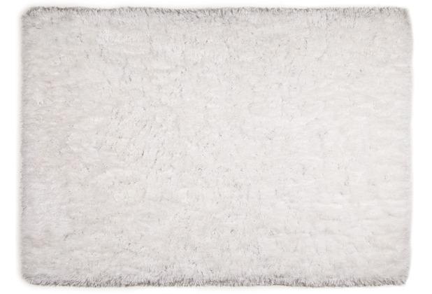 THEKO Teppich Flokato, UNI, white 60cm x 90cm