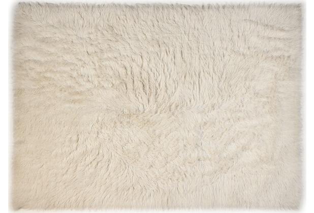 Kelii Flokati-Teppich Classic natur - 1250 g/m² 60 cm x 90 cm