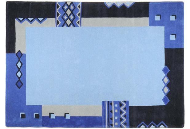 THEKO Teppich Florida, 3193, blau 70cm x 140cm
