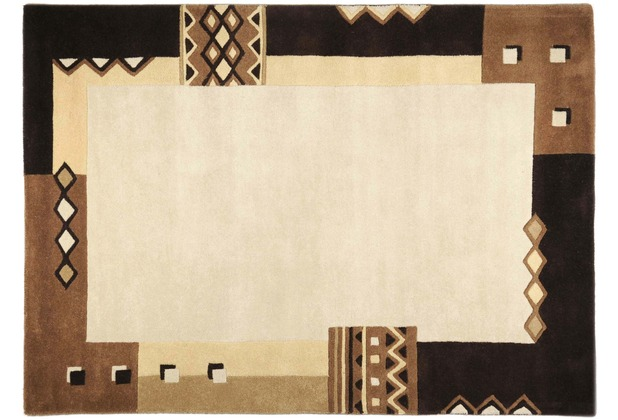 THEKO Teppich Florida, 3193, brown 70cm x 140cm