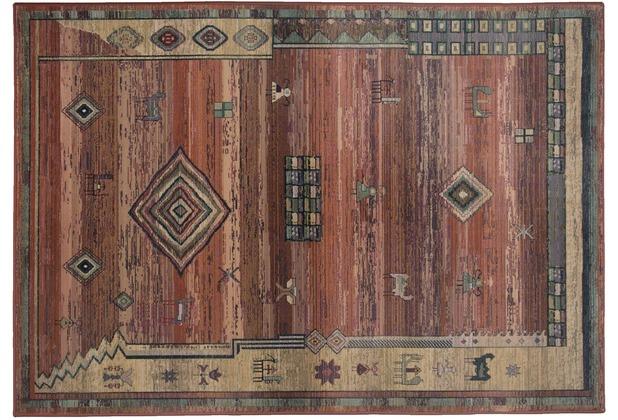 THEKO Teppich Gabiro 002 450 terra 60 x 90 cm