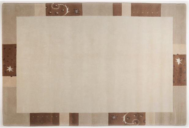 THEKO Nepalteppich Ganges 991 beige 60cm x 90cm