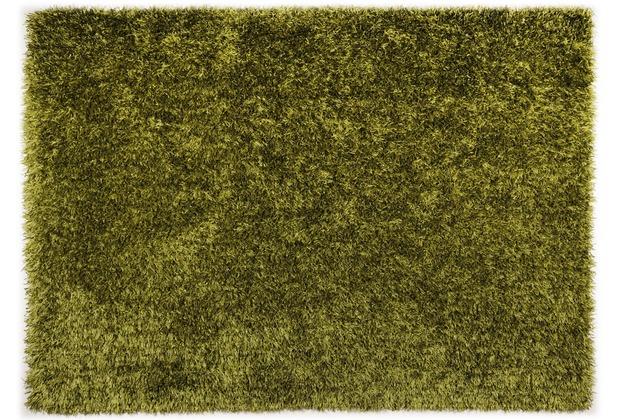 THEKO Teppich Girly, UNI, grün 50cm x 80cm