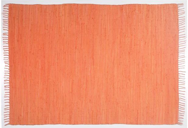Zaba Handwebteppich Dream Cotton Orange 40 cm x 60 cm