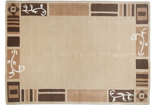 THEKO Teppich Hawaii FE-7098 550 beige 60 x 90 cm