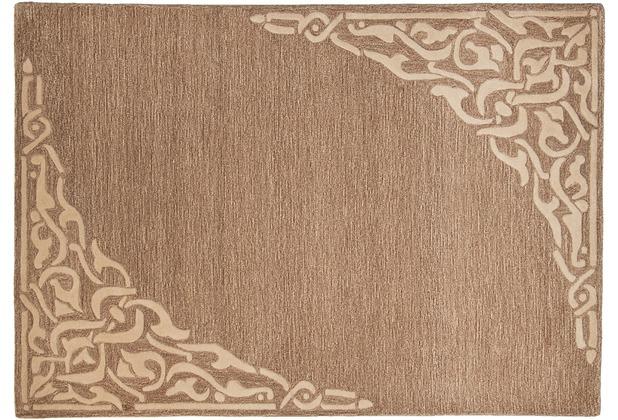 THEKO Teppich Hawaii FE-8101 506 hellbraun 160 x 230 cm