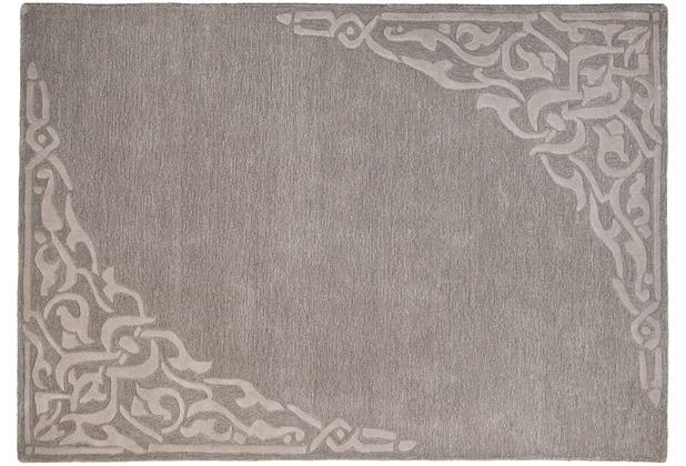 THEKO Teppich Hawaii FE-8101 650 grau 160 x 230 cm