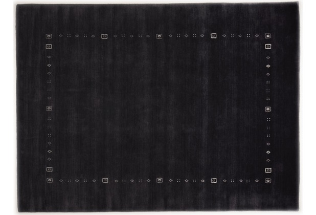 THEKO Gabbeh-Teppich Lori Dream 3961 anthracite 70 cm x 140 cm