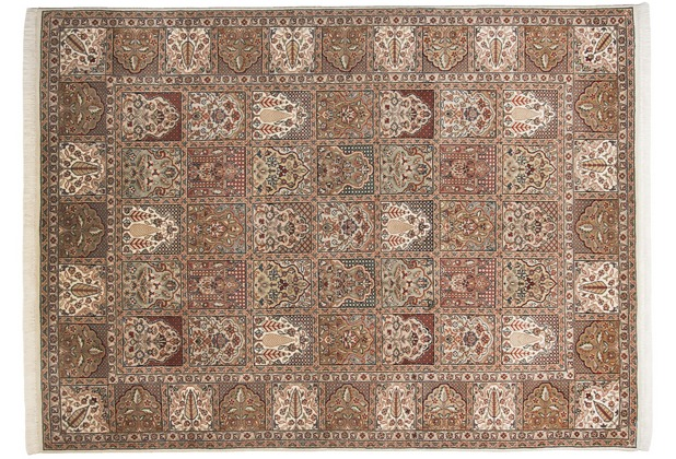 THEKO Teppich Meraj Silk Touch Bakt. N 573 creme 170 x 240 cm