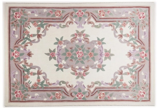 THEKO Teppich Ming, Aubusson 501, beige 60cm x 90cm