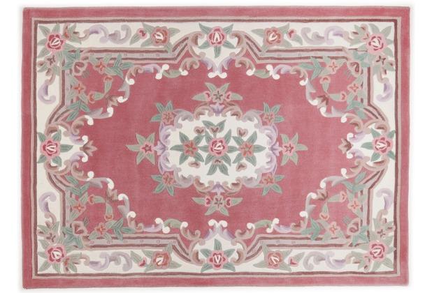THEKO Teppich Ming, Aubusson 501, rose 60cm x 90cm