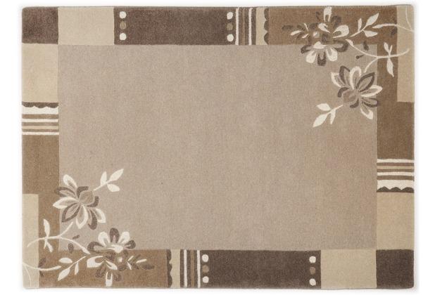 THEKO Nepalteppich Napura, FE-6587, natural beige 50cm x 80cm