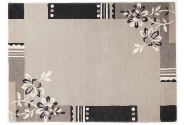 THEKO Nepalteppich Napura, FE-6587, natural grau 50cm x 80cm
