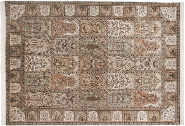 THEKO Teppich Sirsa Silk touch Bakt. K 573 creme 140 x 200 cm