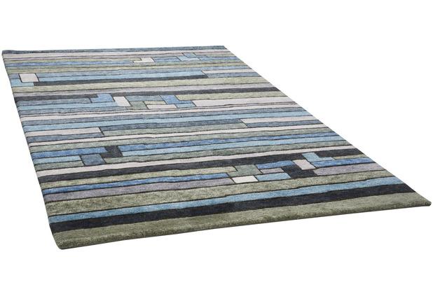 THEKO Nepalteppich Talonga RS682 blue multi 164 x 235 cm