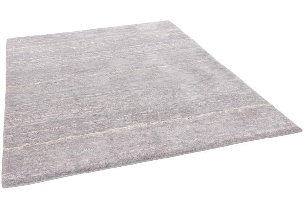 THEKO Nepalteppich Talonga Silk RSK614 grey multi 172 x 244 cm