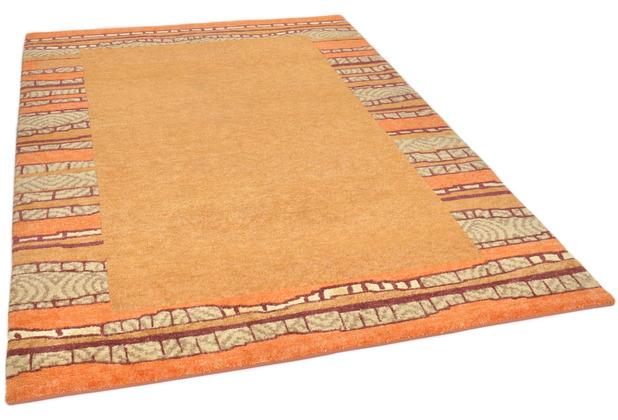THEKO Nepalteppich Talonga Silk RSK687 terra multi 165 x 237 cm