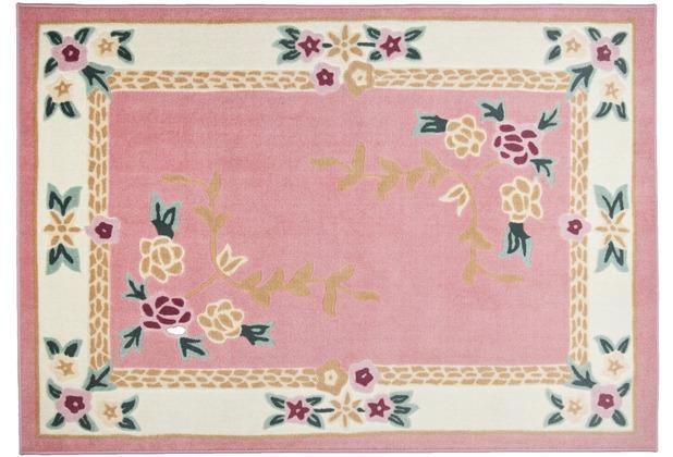THEKO Teppich Versailles 8068 250 rose 50 x 80 cm