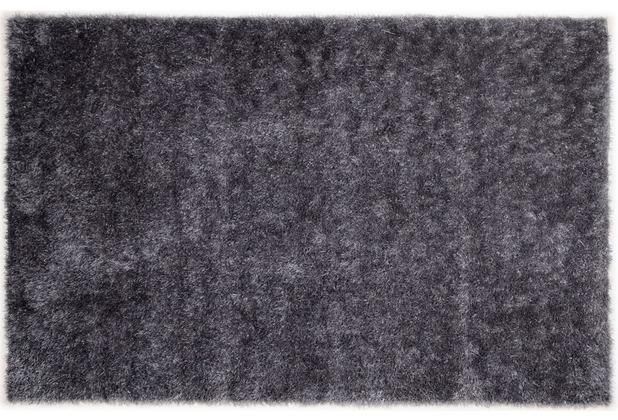 THEKO Tinos Super UNI 640 silber 80 cm x 150 cm