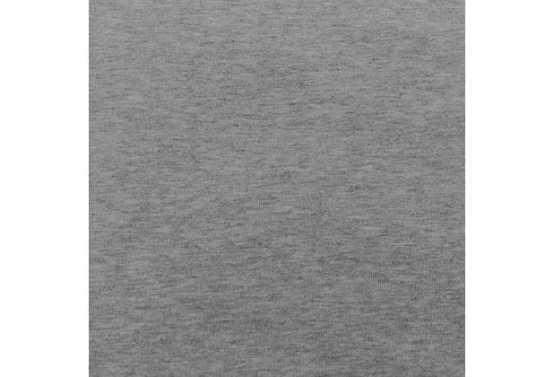 Theraline Bezug für PEARLfusion Kopfkissen Standard 50x32x12 cm Jersey Melange mittelgrau (Dessin 116)