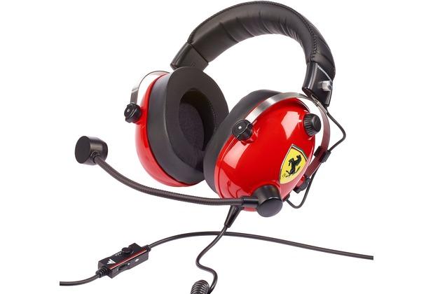 Thrustmaster Headset T.Racing Scuderia - Ferrari Edition - Headset