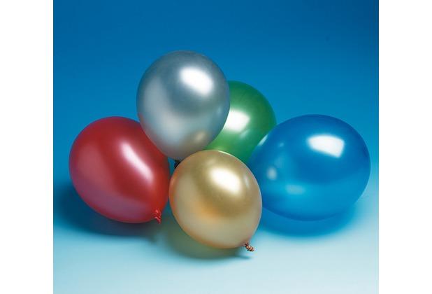 TIB Heyne Luftballons, Umfang 96 cm, Ø30 cm, Metallicfarben, bunt, 100 Stück
