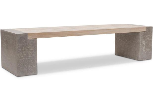 TINGO LIVING MODULO Sitzfläche, 160x51/6 cm, Teak vintage grau