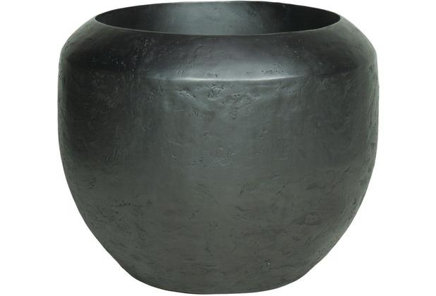 TINGO LIVING NEW LOFT Pflanzgefäß, 50/40 cm, black iron
