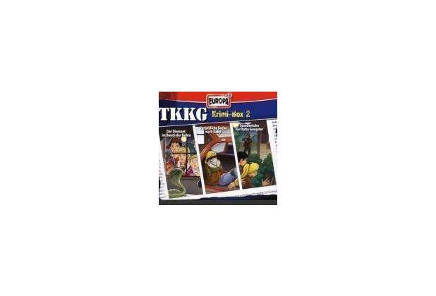 TKKG Krimi-Box 02 Hörspiel