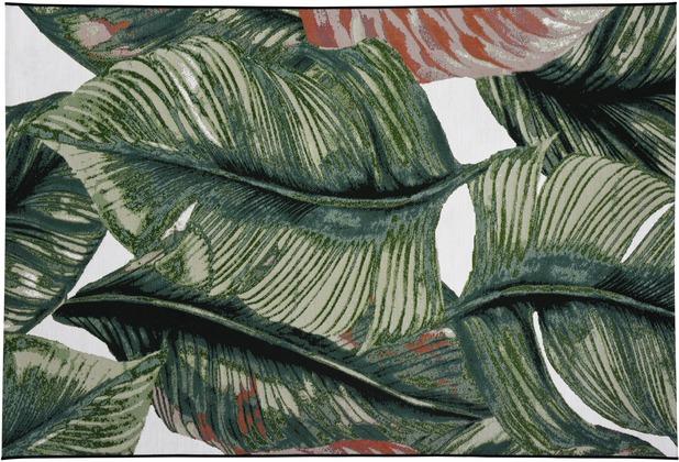 Tom Tailor Teppich Garden Leaf 305 hell grün 123 x 180 cm