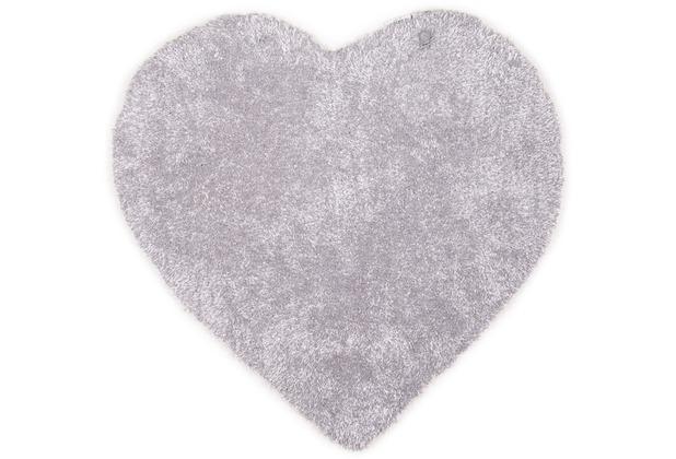 Tom Tailor Kinderteppich Soft Herz grau 100cm